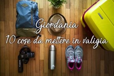 Giordania - 10 cose da portare in valigia