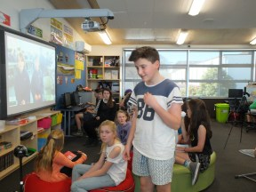 Mystery Skyping with St Virgil's College in Tasmania, Australia