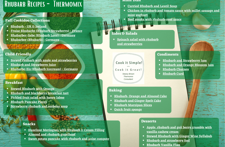 Rhubarb Recipes on Cookidoo Australia