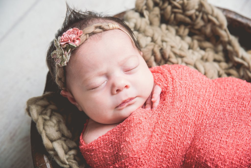 Baby Girl Newborn Photographer Logan Utah
