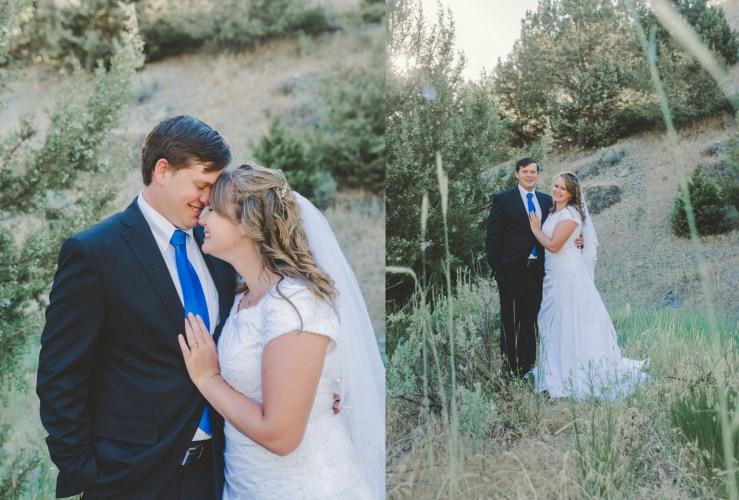 Bradshaw Wedding Formal Green Canyon Utah