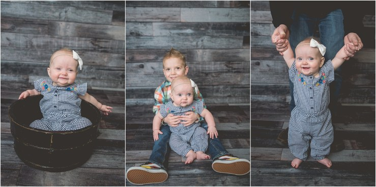 Hill 6 Month Milestone Logan Utah Photographer