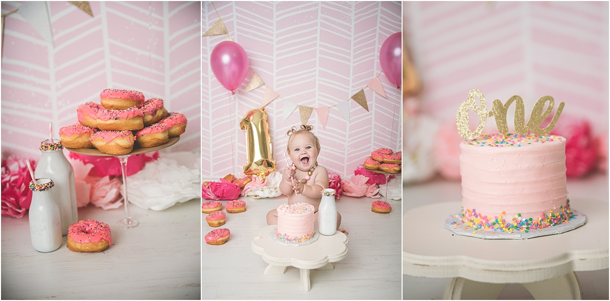 Phillips Cake Smash Logan Utah Cake Smash Photographer