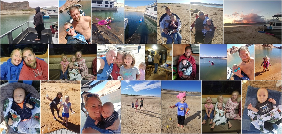 Lake Powell Family Vacation