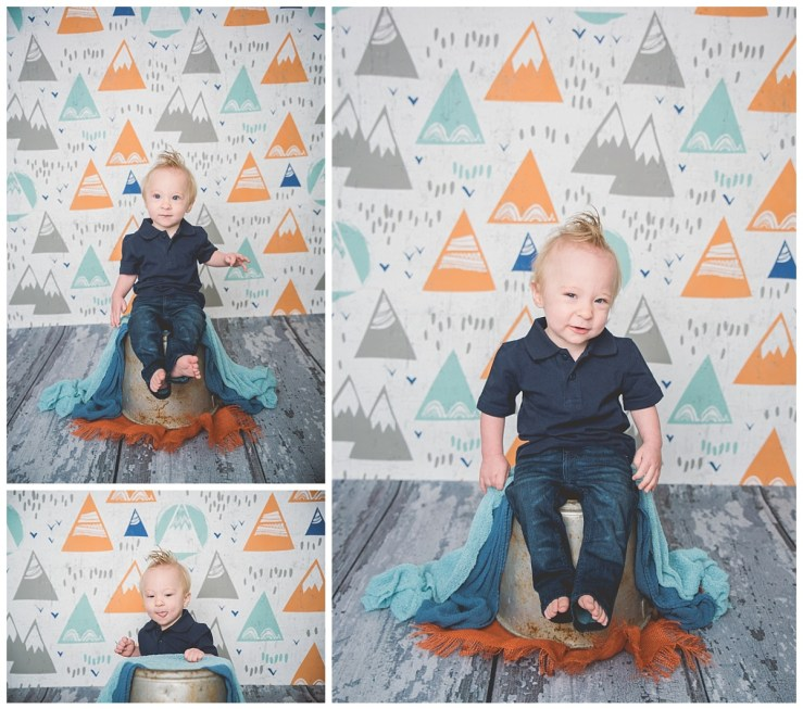 Hansen Logan Utah Cake Smash Photographer