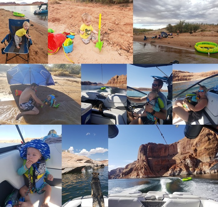 Hansen Family Lake Powell Trip