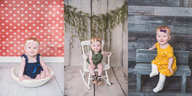 6 Month Little Girl Logan Utah Photographer
