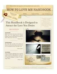 How to Love Me Handbook - cover image