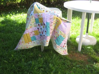 Melissa's baby quilt