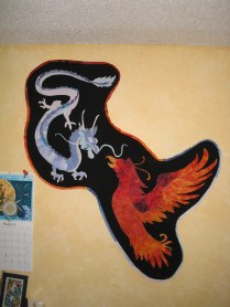 Circa 2002 Dragon and Phoenix
