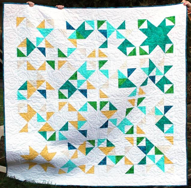 Will You Be You- Moder Quilts Unlimited Winter 2016