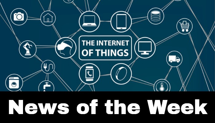 Graphique montrant les actualités de l'Internet des objets