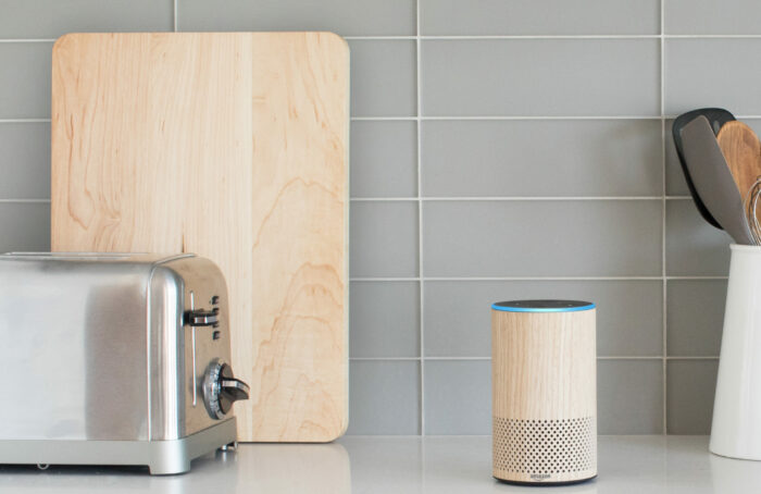 - Oak Echo Kitchen Counter HiRes 1 e1557795846102 - Amazon turns on Guard and here's how it works – Stacey on IoT