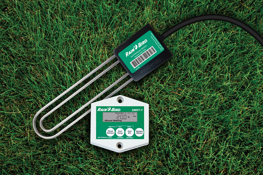 What smart home products can monitor soil moisture for a garden?