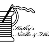 Kathy's Needle & Thread Logo | Logo Design | Stacey Sansom Designs