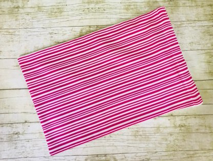 Ice Pack Cover - Magenta Stripes - 8x12 - Stacey Sansom Designs