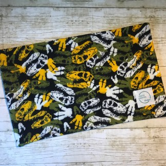 Ice Pack Cover - Dinosaur Skeleton - 8x12