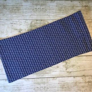 Ice Pack Cover - Navy Half Circles Stripe - 6x12