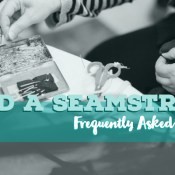 Hiring a seamstress?   FAQ   Sewing Services   Stacey Sansom Designs