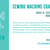 Sewing Machine Crash Course | Learn to Sew DFW | Stacey Sansom Designs