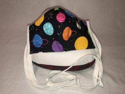 Medium Face Mask (Ver 2) - Planets | Stacey Sansom Designs