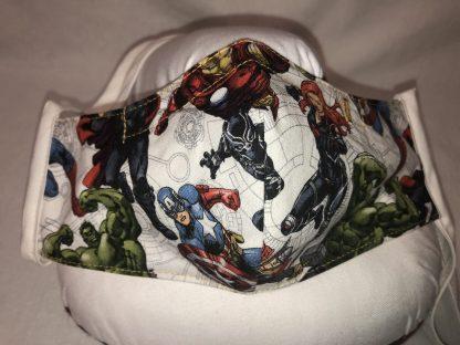 Medium Face Mask (Ver 1) - Popular Super Heros (Ver 1) | Stacey Sansom Designs