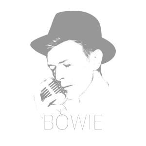 David Bowie Art Creation by Steve Stachini - Sublime Bowie 120cm x 120cm