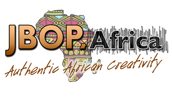 Steve Stachini #JBOP Logo showing an artistic map of Africa