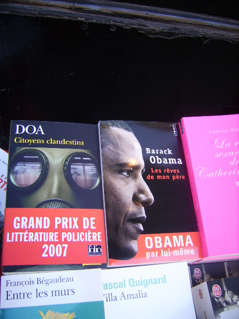 at librairie de abbesses