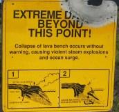 Extreme Danger Sign