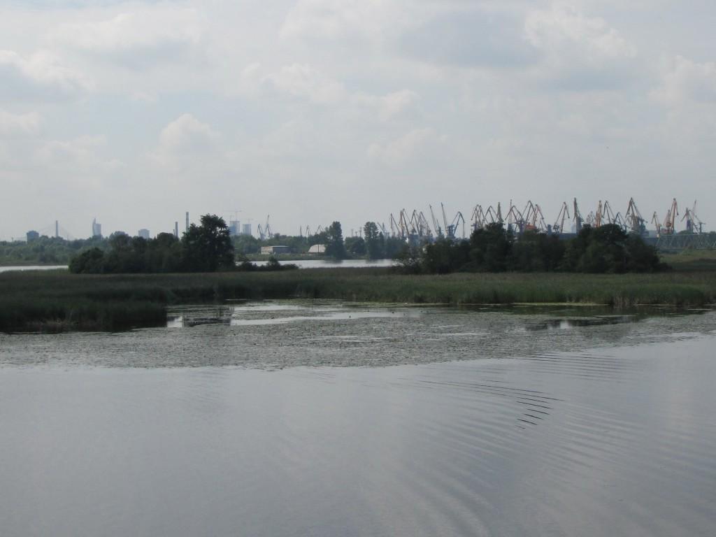 Skats no Kundziņsalas tilta