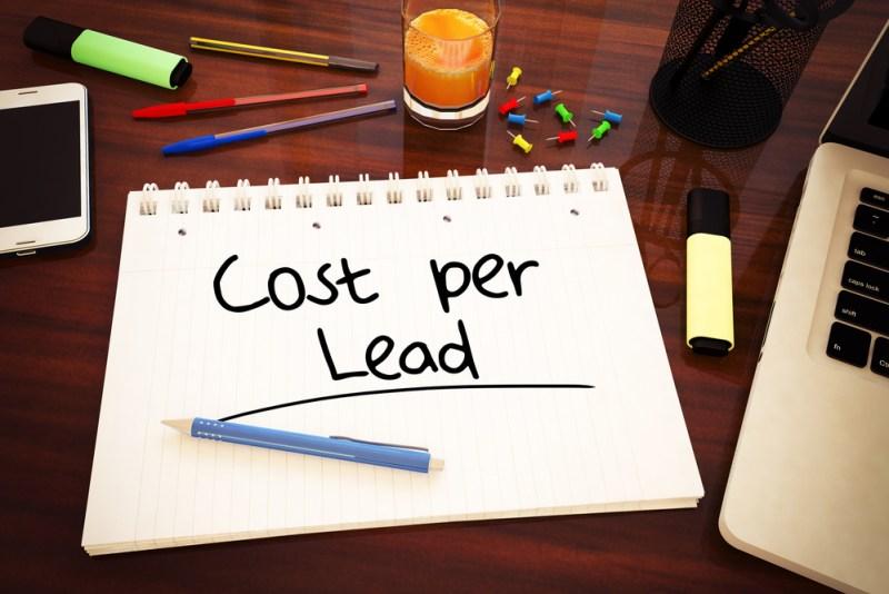 Average Cost Per Lead