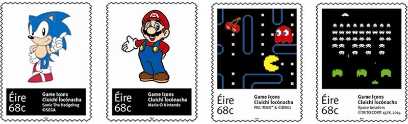 Its A Stick A Up Super Mario Stamps On Their Way