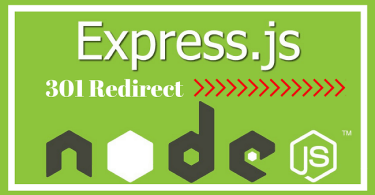 301 redirects node express