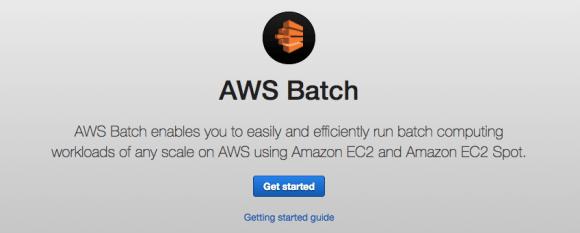 AWS Batch guide