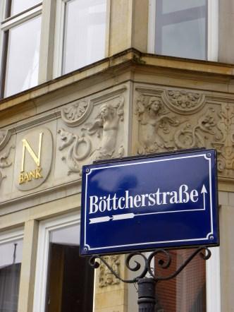 Bremen street sign