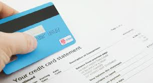 Check credit card statement to survive credit repair