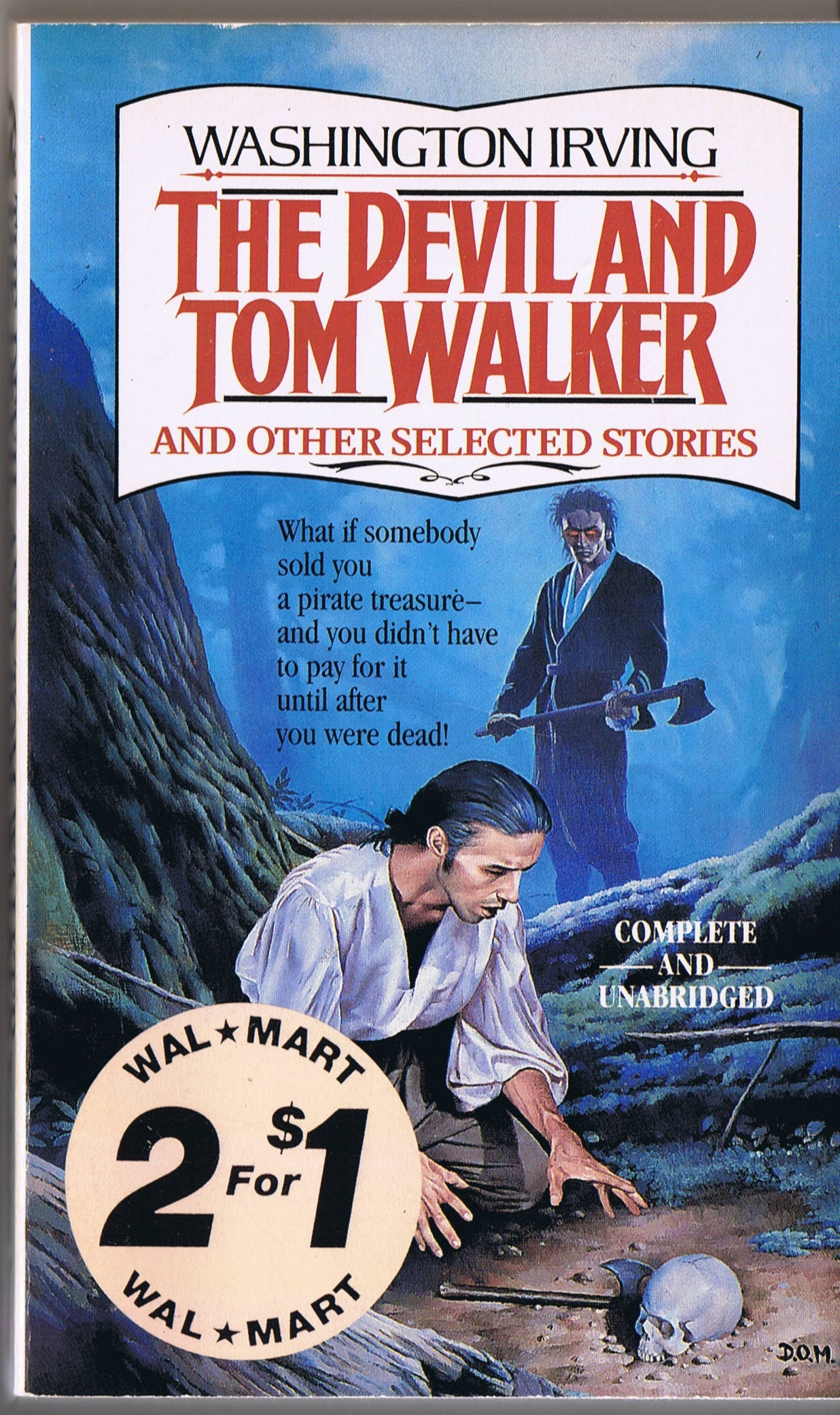 The Devil Amp Tom Walker And Other Selected Stories By