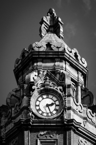 Clock Tower (After), Katie Prior, Drawing with Light