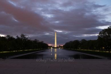 Washington Monument, dawn (0ev bracketed shot in series)