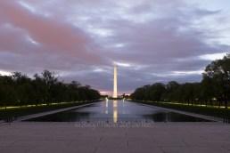 Washington Monument, dawn (+1ev bracketed shot in series)