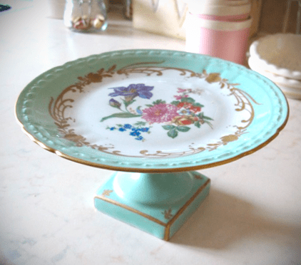 Vintage French Cake Stand