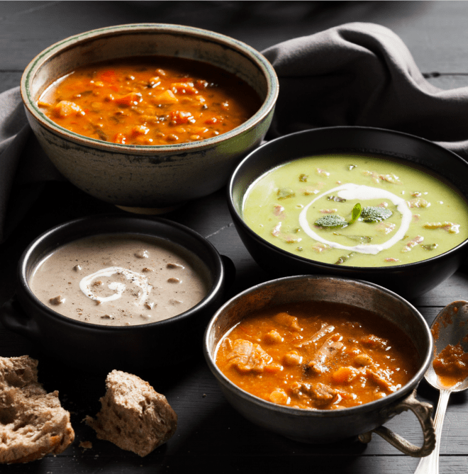 Soup Photography by Stacy Grant