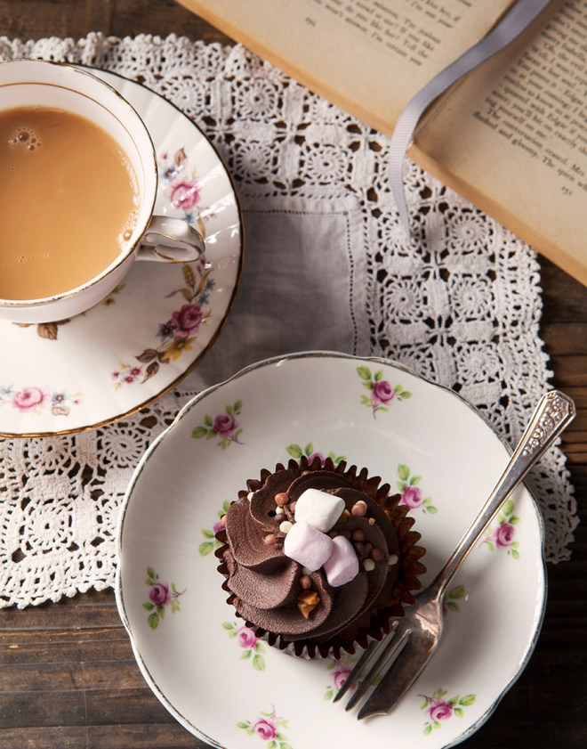 Tea and Cupcake by Stacy Grant