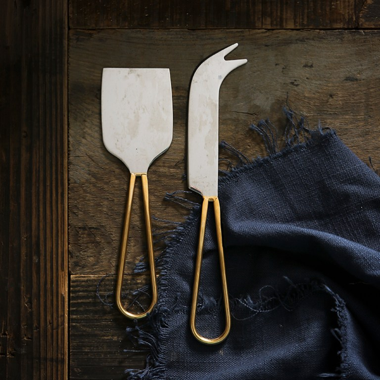 Best Food Photography Props Cheese Knives
