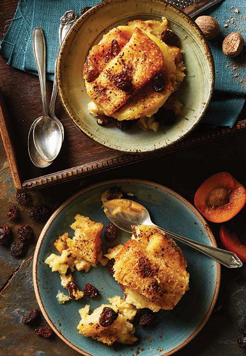 Bread and butter pudding | Stacy Grant | Food Photography