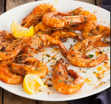 Shrimps on the BBQ | Stacy Grant Food Photography
