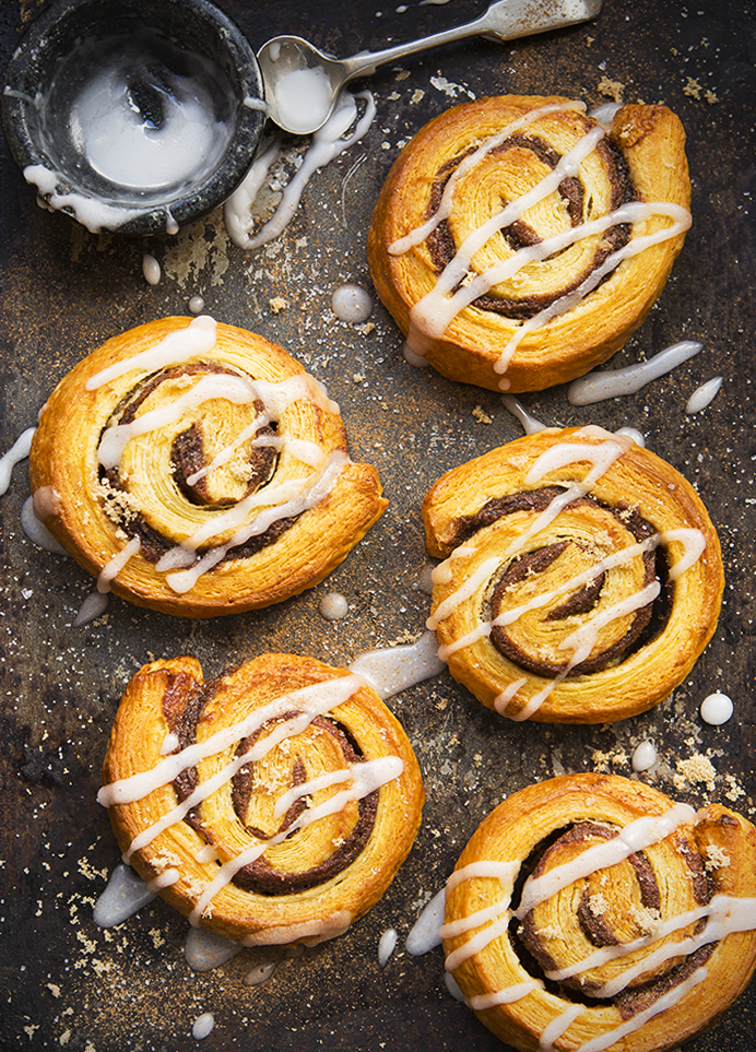 Danish Pastry | Food photography | Stacy Grant Photographer