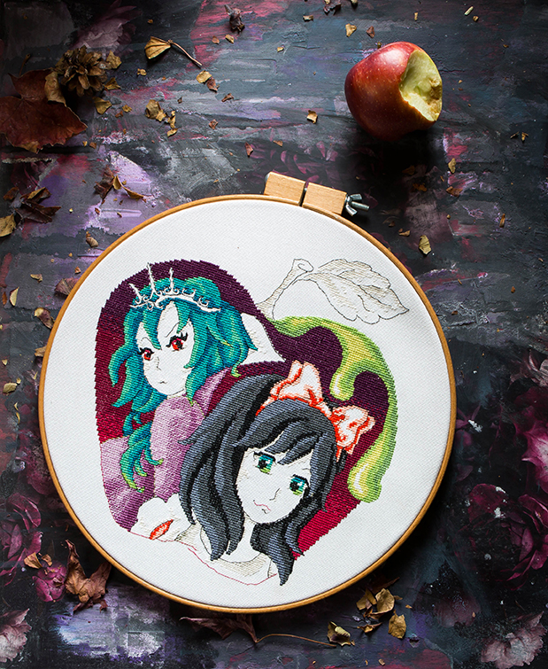 XStitch Mag | Heroes and Villains | Craft | Cross Stitch | Photography by Stacy Grant