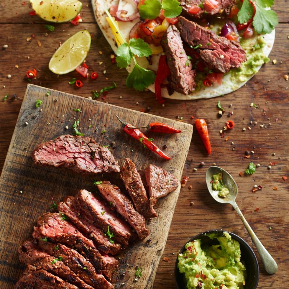 Beef Fajitas | The Co-op | Stacy Grant Photography | UK